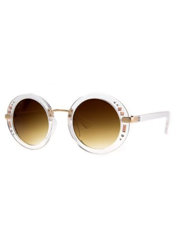 A J MORGAN ANOTHER PLANET SUNGLASSES - CRYSTAL