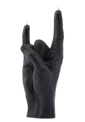 CANDLE HAND YOU ROCK - BLACK