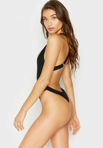 FRANKIES BIKINIS VIV ONE PIECE - BLACK