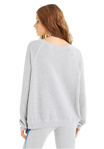 WILDFOX WOMEN'S RIOTS SOMMERS SWEATER - HEATHER