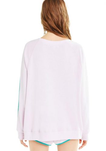 WILDFOX SPIN & JUICE SOMMERS SWEATER - TRUE PRIMOSE