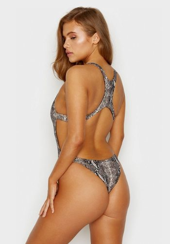 FRANKIES BIKINIS VENOM ONE PIECE - SNAKEPRINT