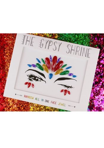 THE GYPSY SHRINE ALL IN ONE FACE JEWELS - RAINBOW
