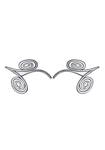 FACE LACE WHIRL COOL – BLACK / SILVER