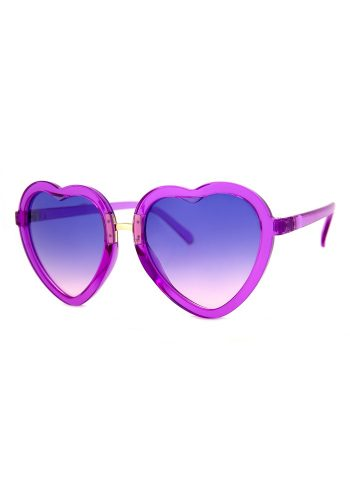 A J MORGAN LOVE MACHINE SUNGLASSES - PURPLE