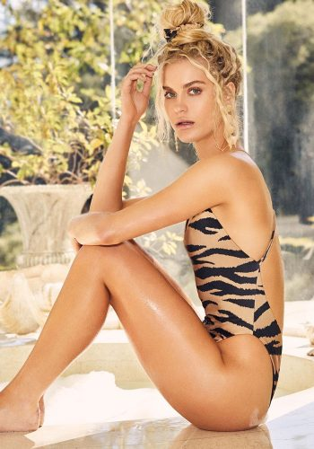 LNA CLOTHING TANGIER ONE PIECE - TIGER