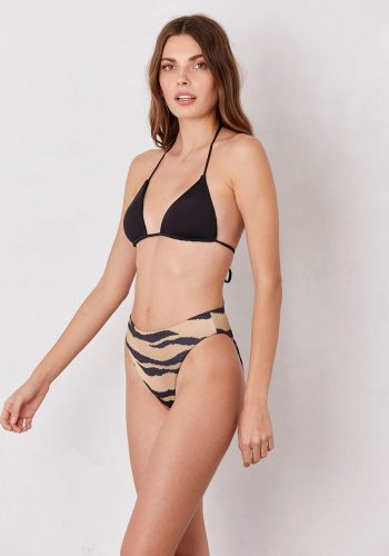 LNA CLOTHING SORRENTO HIGH WAIST BOTTOMS - TIGER