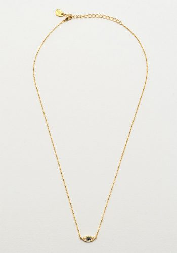 ESTELLA BARTLETT EYE NECKLACE - GOLD PLATED