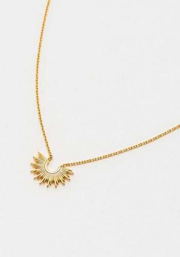 ESTELLA BARTLETT SUNBURST NECKLACE - GOLD PLATED