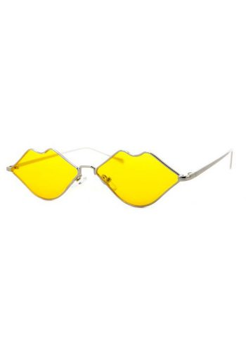 A J MORGAN SUNGLASSES - SQUIGGLY - YELLOW