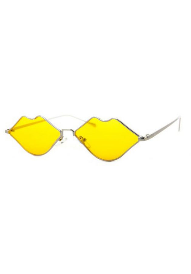 A J MORGAN SUNGLASSES – SQUIGGLY – YELLOW
