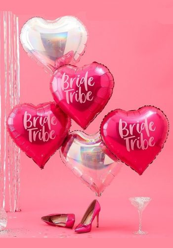 GINGER RAY - BRIDE TRIBE HEN HEART BALLOONS
