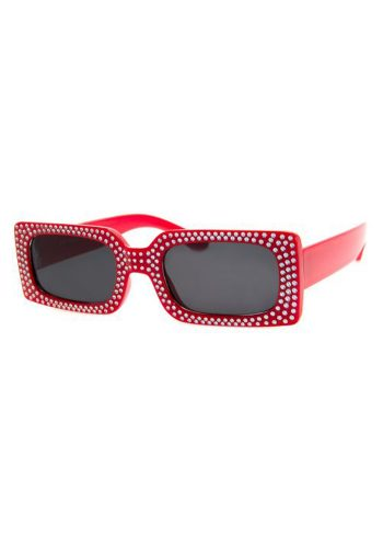 A J MORGAN BADABING SUNGLASSES - RED
