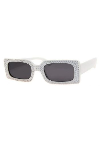 A J MORGAN BADABING SUNGLASSES - WHITE