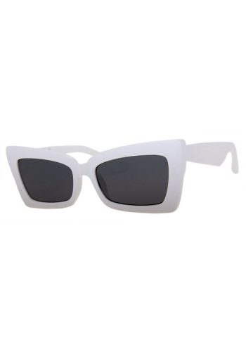 A J MORGAN BIG BOSS SUNGLASSES - WHITE