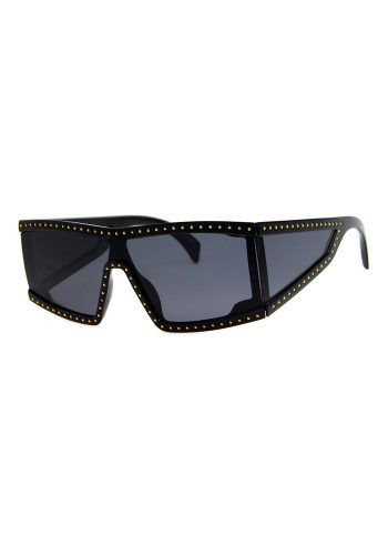 A J MORGAN HIPPODROME SUNGLASSES - BLACK
