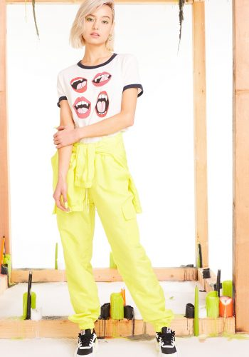 Wildfox Fangs Johnny Ringer Tee