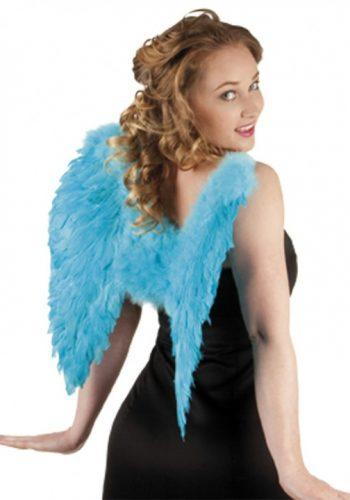 Feather Angel Wings - Turquoise