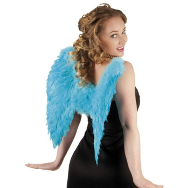 Feather Angel Wings – Turquoise