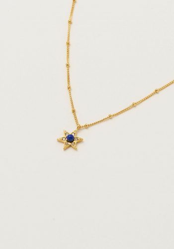 Estella Bartlett Lapis CZ Star Necklace