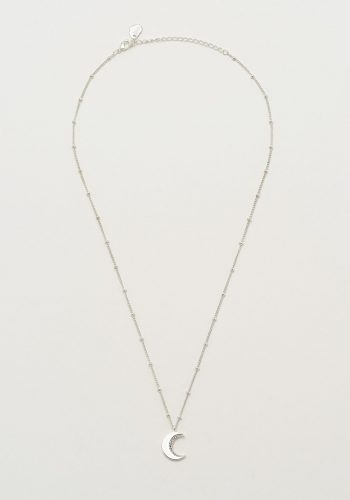 Estella Bartlett CZ Moon Necklace