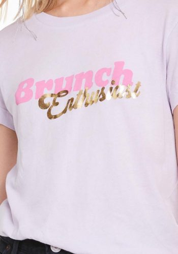 Wildfox Brunch Enthusiast NO9 Tee