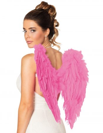 Feather Angel Wings – Fuchsia Pink