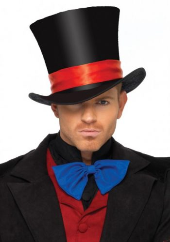 Men's Velvet Top Hat