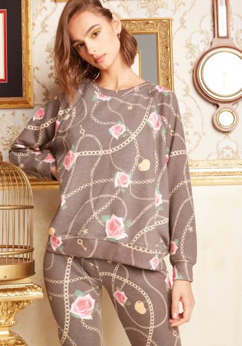 Wildfox Rose Gold Sommers Sweatshirt