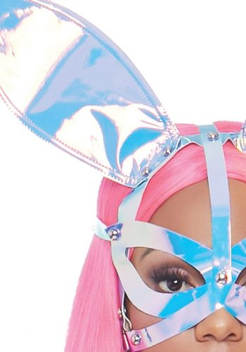 Leg Avenue Holographic Bunny Ear Mask