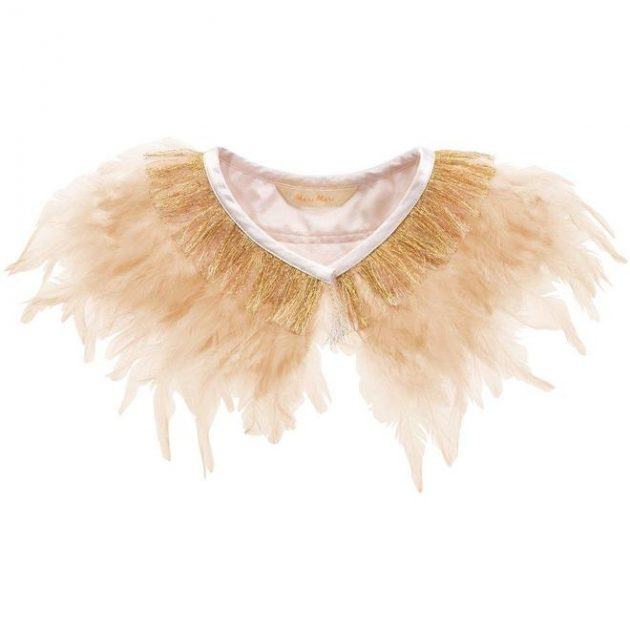 Meri Meri Peach Feather Capelet