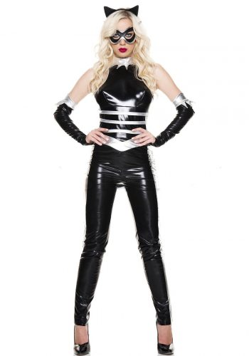 Music Legs Panther Lady costume