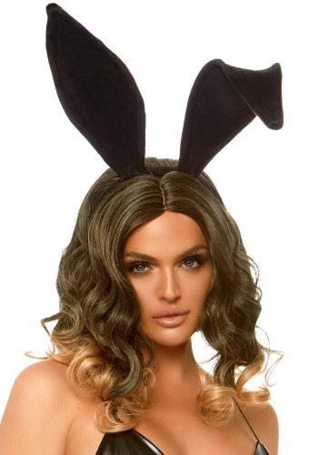 Leg Avenue Velvet Bunny Ear Headband