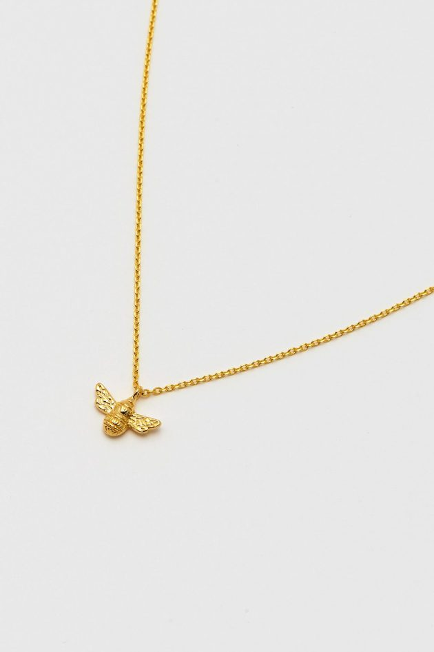 Estella Bartlett Bee Necklace – Gold
