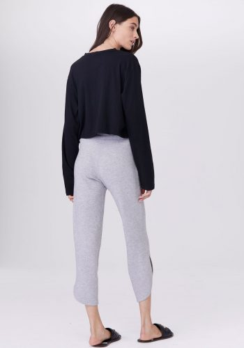 LNA CLOTHING BRUSHED CURVED KISMET PANT