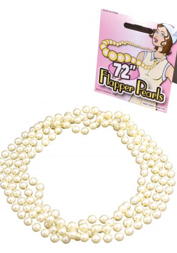 Flapper Beads - Pearl