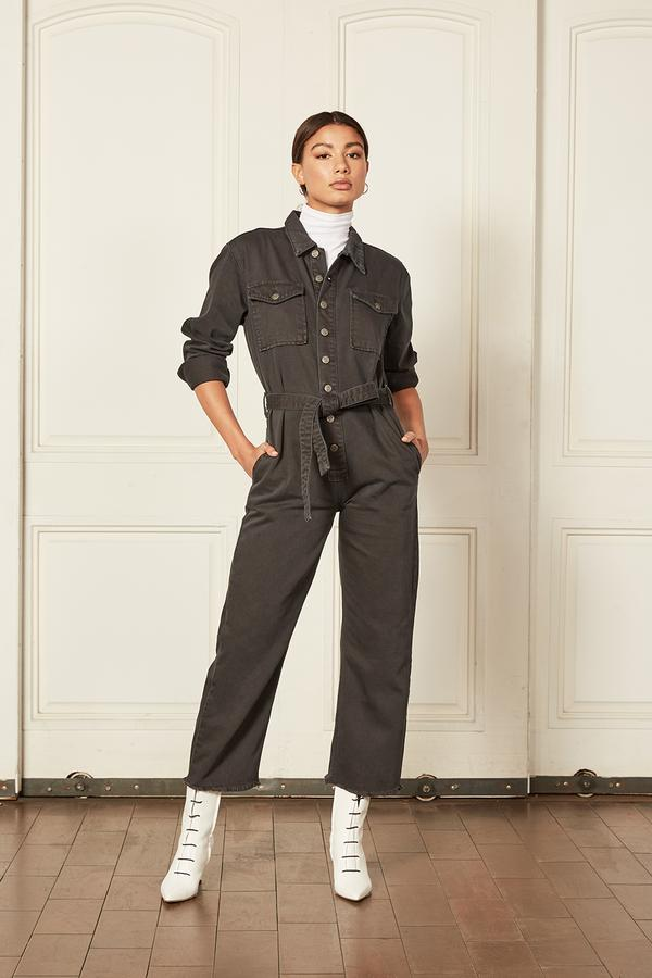 Boyish Jeans – The Guy jumpsuit- The Servant Grey