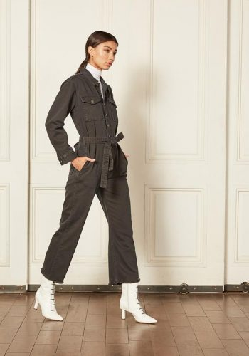 Boyish Jeans - The Guy jumpsuit- The Servant Grey