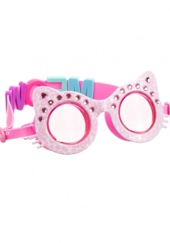 Bling2o - Pink Meow Swimming Goggles