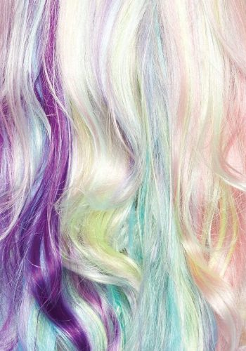 Leg Avenue - Pastel Rainbow Long Wavy Wig
