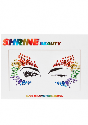 shrine Love is Love face jewel