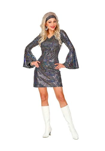 THE 70s DISCO STYLE (dress, headband)