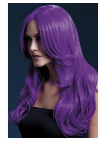 Fever Khloe Wig, Neon Purple
