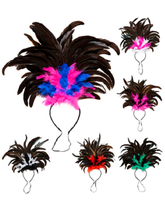 COPACABANA FEATHER HEADBAND