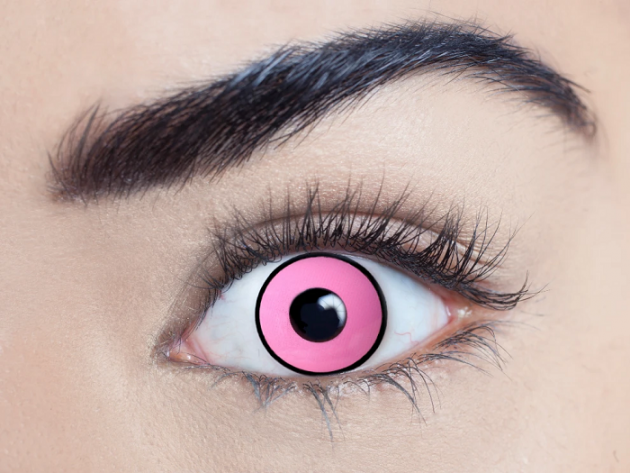 Climax Pink UV Contact Lenses