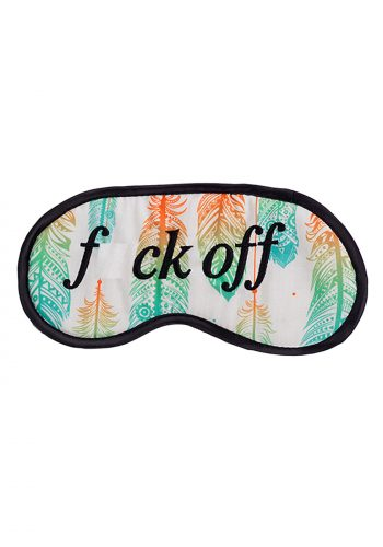 Feather F*ck Off EyeMask