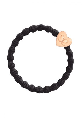 BY ELOISE - Rose Gold Heart | Black