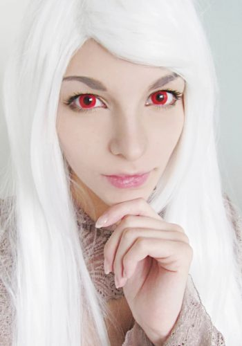 Blood Red Contact Lenses