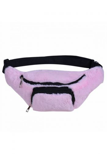 Fluffy Bumbag - Baby Pink