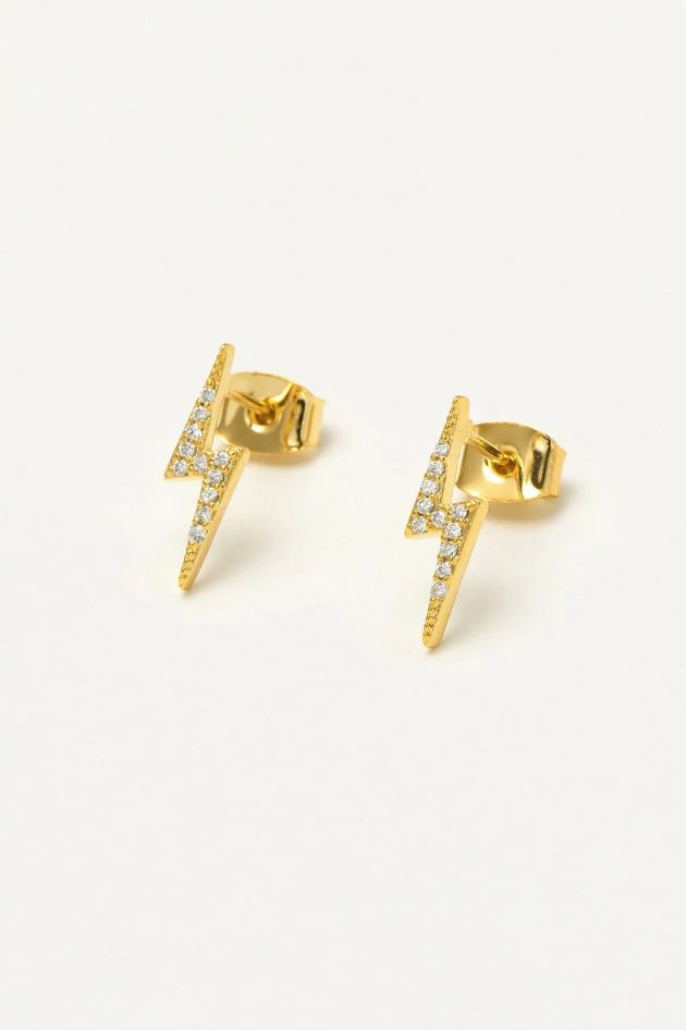 Estella Bartlett – Lightning Bolt Earrings